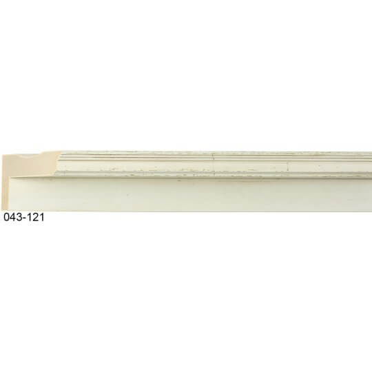 "3/4"" x 2 3/16"" French Vanilla Maison Floater"