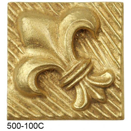 Fleur De Lis Compo Corner - GOLD