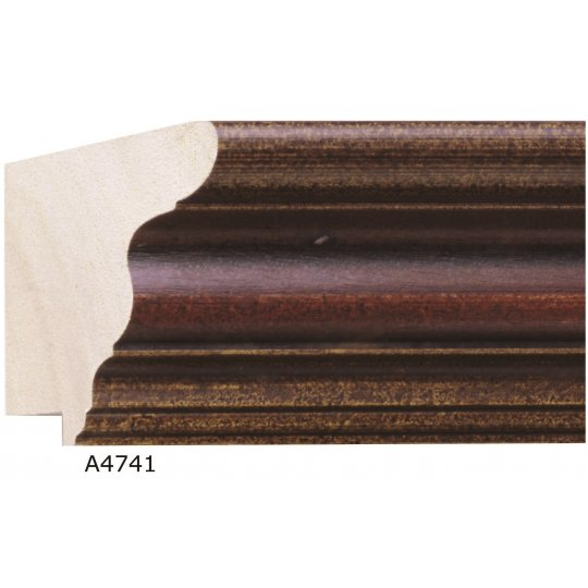 "2 1/2"" x 1 3/4"" Antica Mahogany - Discontinued: Call for Stock"