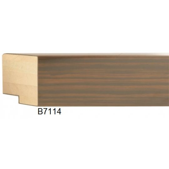 "2"" Walnut Wood Grain High Gloss - Discontinued: Call for Stock and Price"