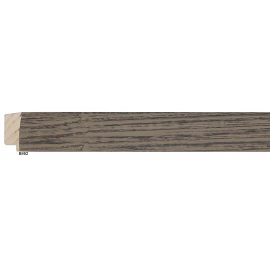 "1 1/2"" Wolf Grey Barnwood Square"