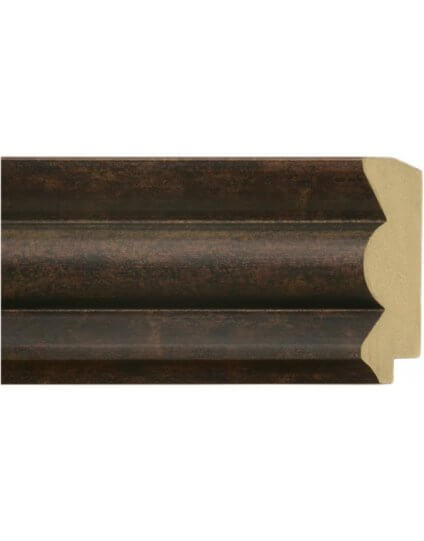 "3 1/2"" Bronze Acid Wash Wave - Discontinued: Call for Stock and Price"