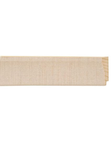 """2"""" Natural Linen Scoop Liner - Discontinued: Call for Stock and Price"""