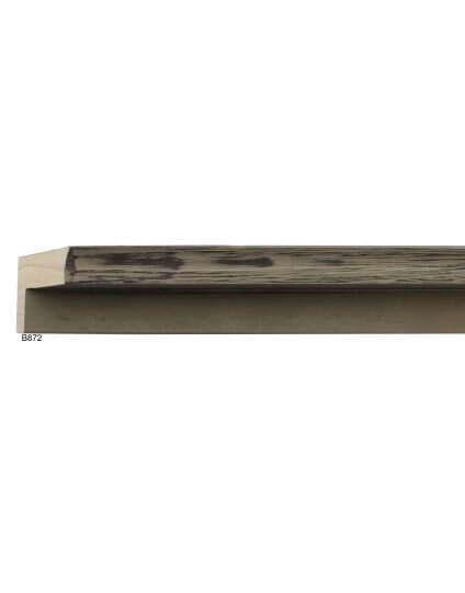 "13/16"" x 2 1/8"" Wolf Grey Barnwood Floater"