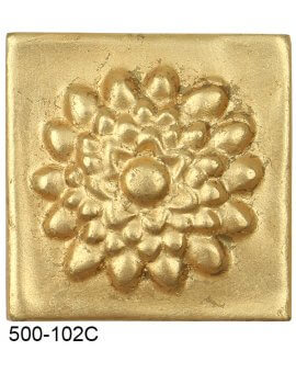 Lotus Flower Compo Corner - GOLD