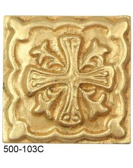 Malta Cross Compo Corner - GOLD