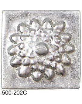 Lotus Flower Compo Corner - SILVER