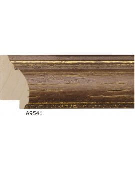 "1 7/8"" x 1"" Rustic Pecan - Discontinued: Call for Stock and Price"