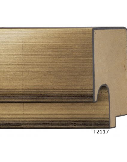 "3 1/2""Gold Leaf inside 2-step - Discontinued: Call for Stock"