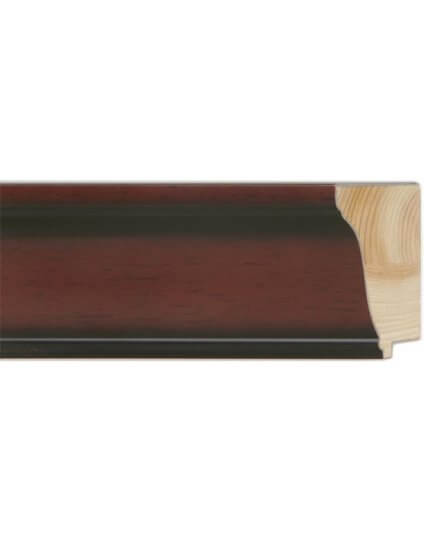 "2 5/8"" Mahogany Scoop - Discontinued: Call for Stock and Price"