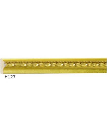 """1/2"""" x 1/4"""" Ornate Gold Fillet"""
