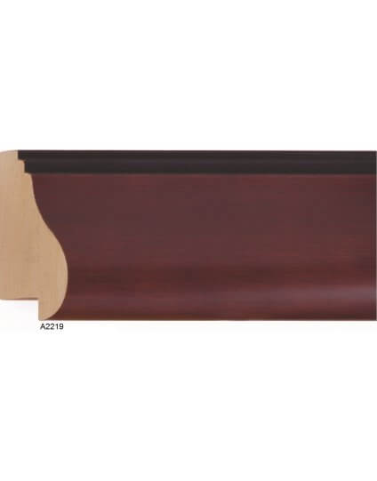 "2 1/2"" x 1 1/4"" Mahogany - Discontinued: Call for Stock and Price"