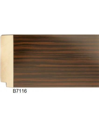 "3 3/4"" Walnut Wood Grain High Gloss - Discontinued: Call for Stock and Price"