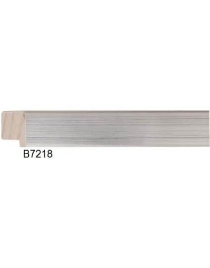 "1 1/4"" Silver Leaf Platinum"
