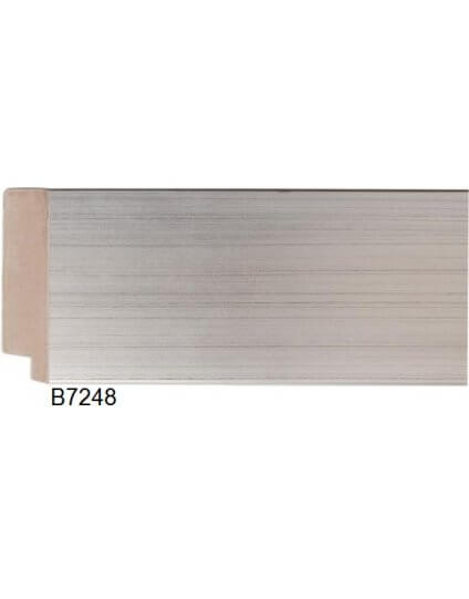 "3 1/8"" Silver Leaf Platinum"