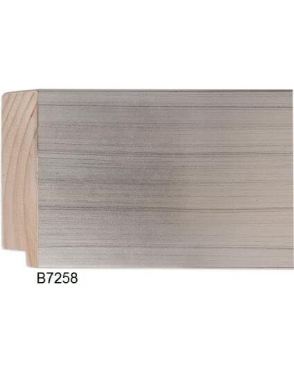 "4 3/8"" Silver Leaf Platinum"