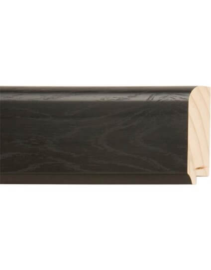 "3 1/4"" x 1"" Black Oak - Discontinued: Call for Stock and Price"