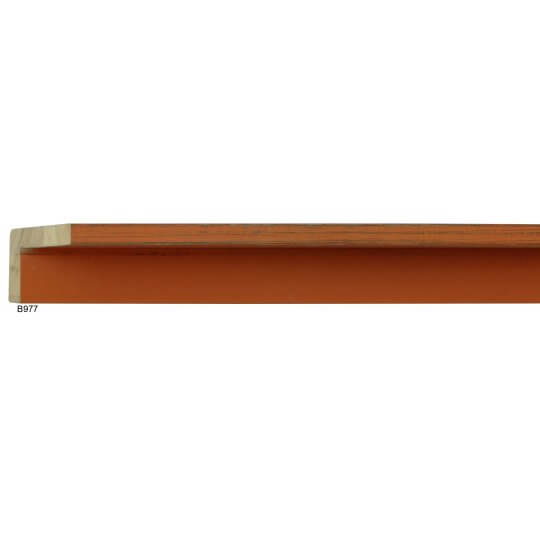 "2"" x 3/8"" Bourbon Orange Country Color Floater"