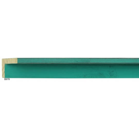 "2"" x 3/8"" French Teal Country Color Floater"