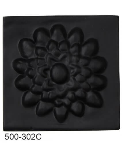 Lotus Flower Compo Corner - BLACK