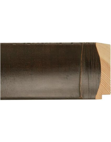 "3 1/4"" Dark Brown Montego Veneer - Discontinued: Call for Stock and Price"