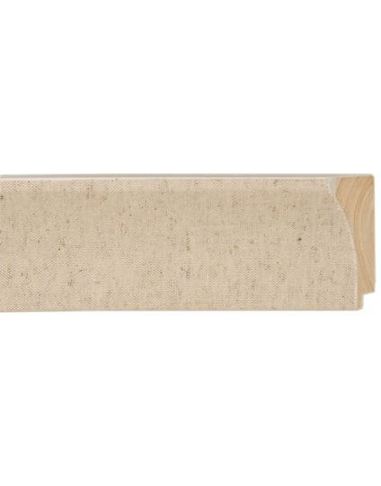 "2 1/2"" Natural Scoop Linen Liner - Discontinued: Call for Stock and Price"