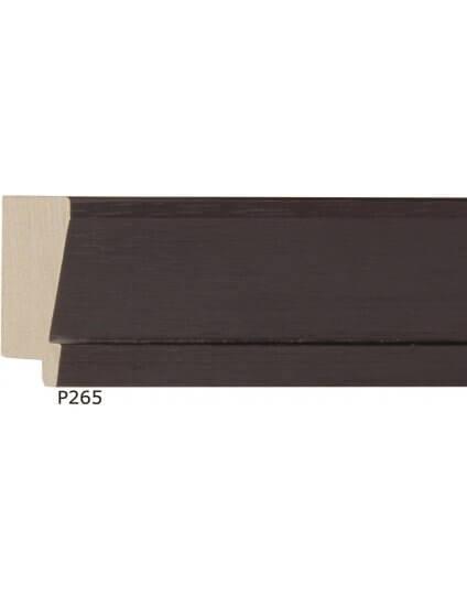 "2"" Natural Wood Dk Chocolate Slant w/ Lip"