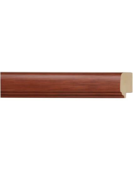 "1 3/8"" SATIN FRUITWOOD"