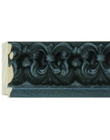 "4 1/2"" Black Ornate Palazzo"