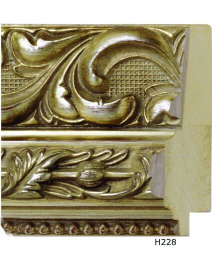 """4 1/4"""" Ornate Silver"""