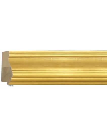"""4"""" Gold Leaf D'Orsay"""