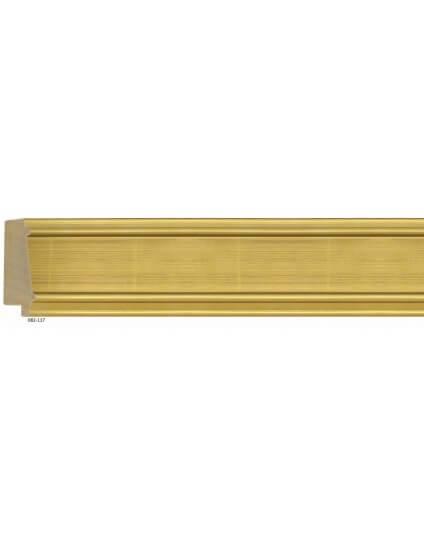 """3 1/4"""" Gold Leaf D'Orsay"""