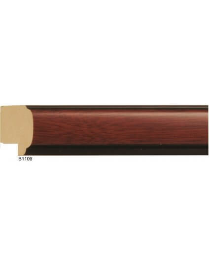 "1""x 7/8"" Mahogany Ramin - Discontinued: Call for Stock and Price"