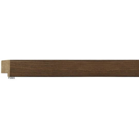 "1 1/4"" Edge Danish Walnut Square"