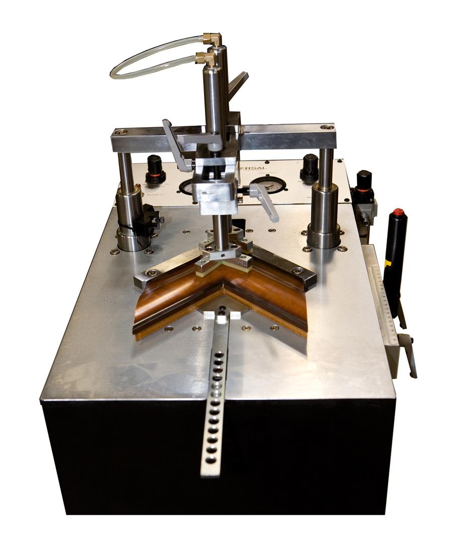 Picture frames equipment Pneumatic underpinner