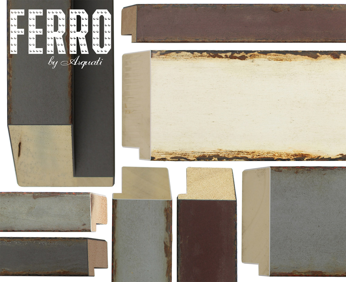 FERRO Picture frame Moulding by Arquati