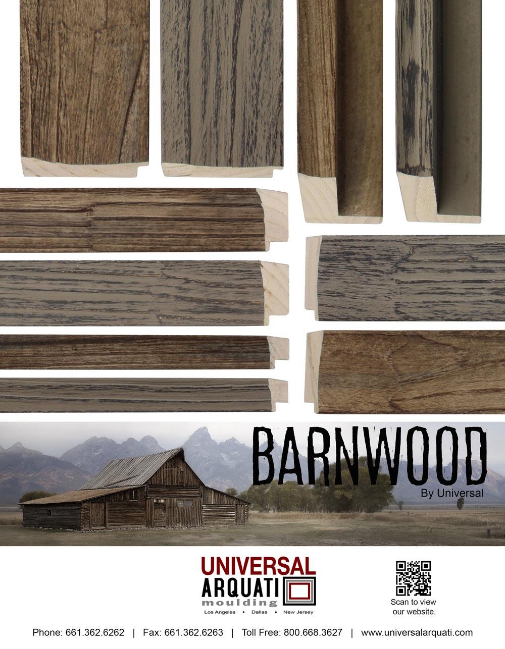 Barnwood Moulding