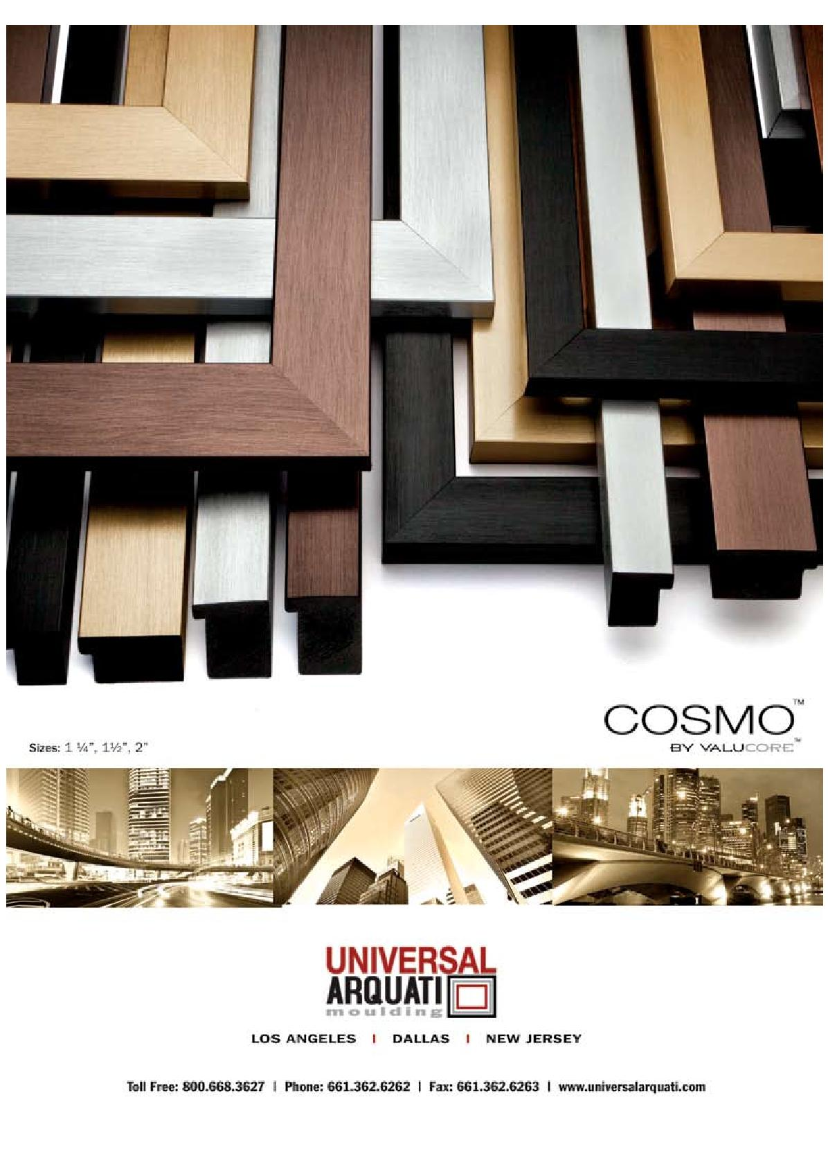 Cosmo Picture Frame Moulding