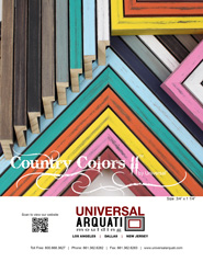 Country Colors II Picture Frame Moulding