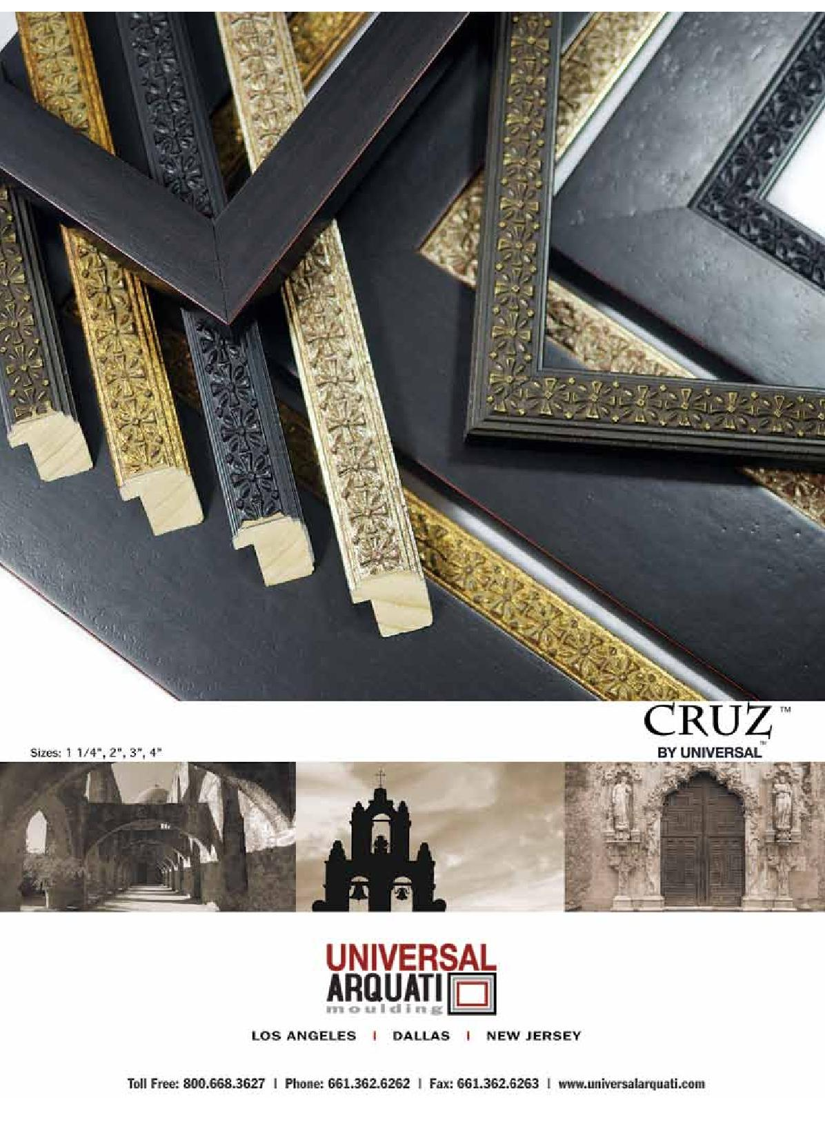Cruz Picture Frame Moulding