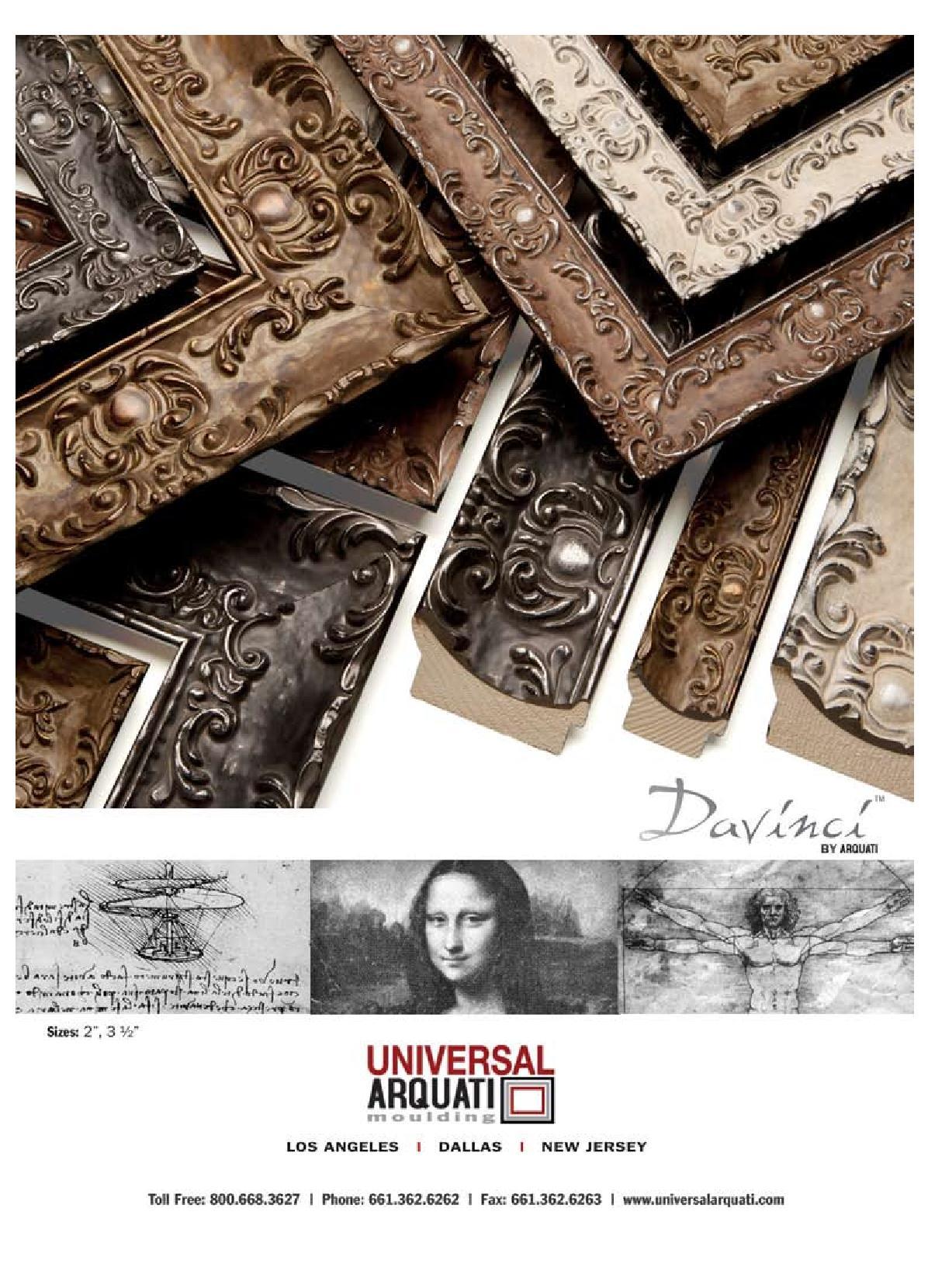 Davinci Picture Frame Moulding