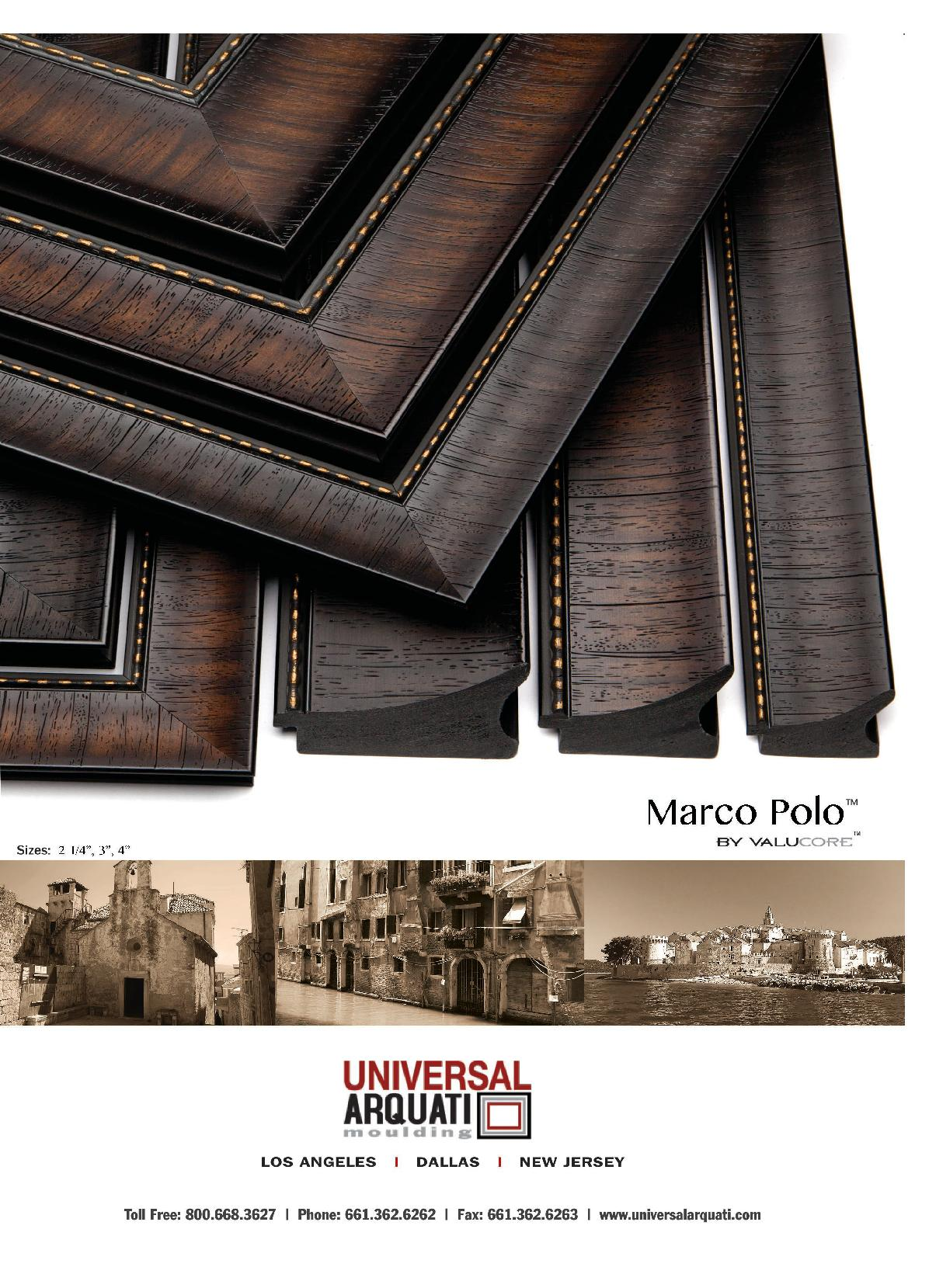 Marco Polo Picture Frame Moulding