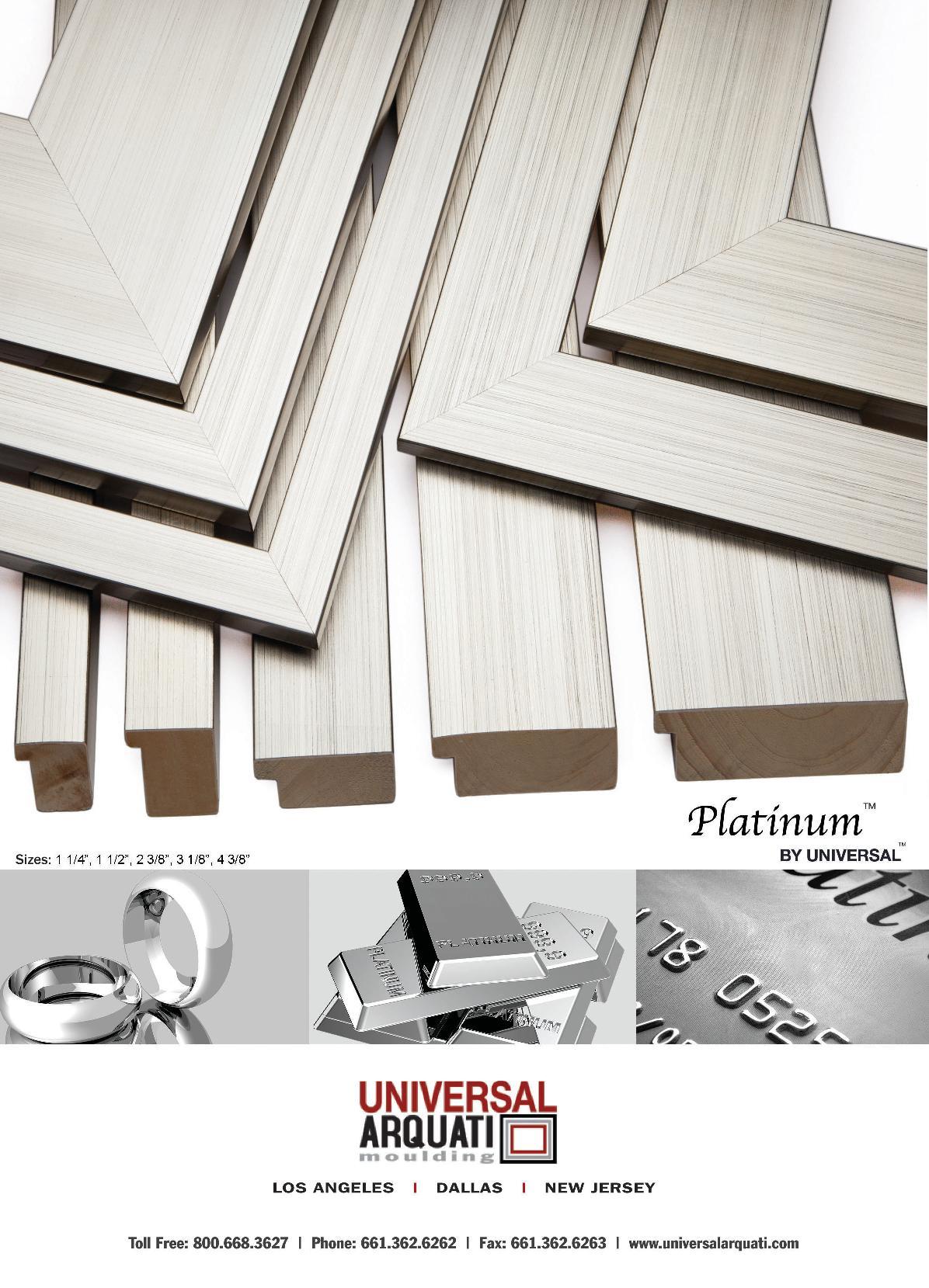 Platinum Picture Frame Moulding
