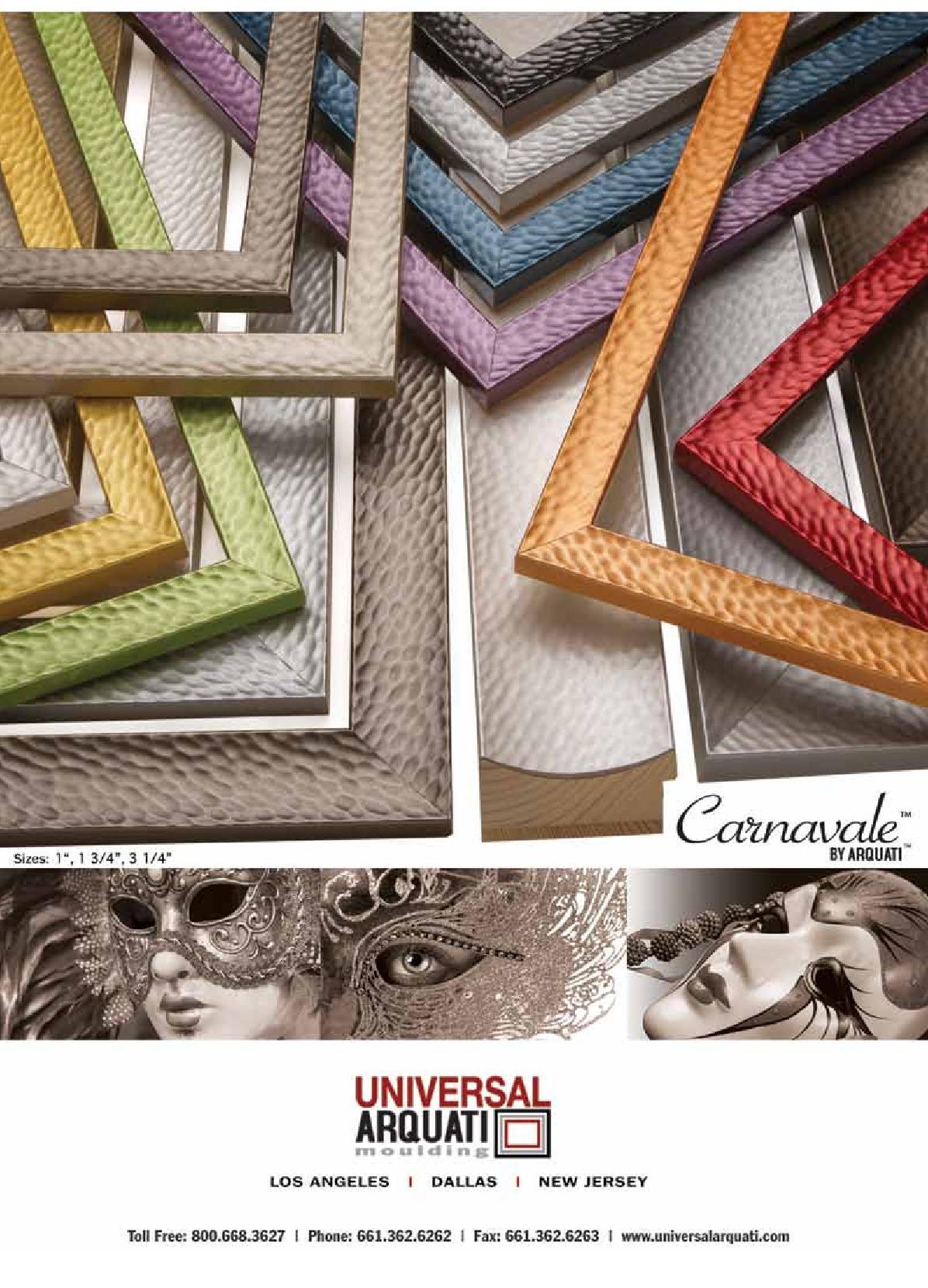 Carnavale Picture Frame Moulding