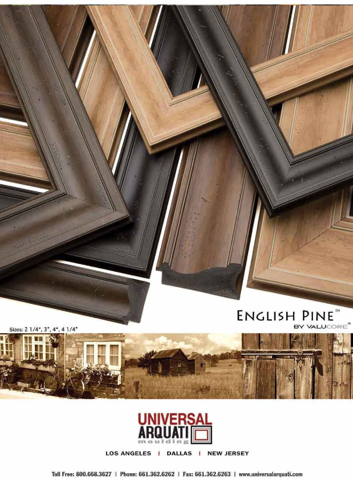 Englishpine Picture Frame Moulding