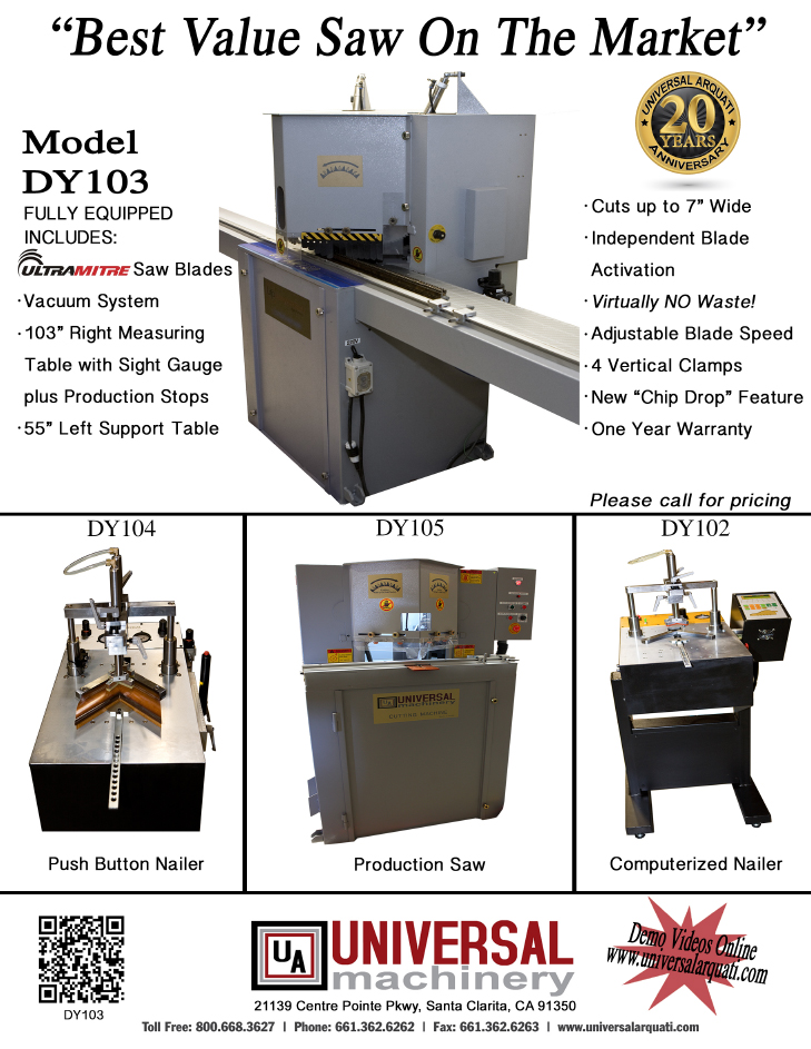 Picture Frame Moulding Equipments