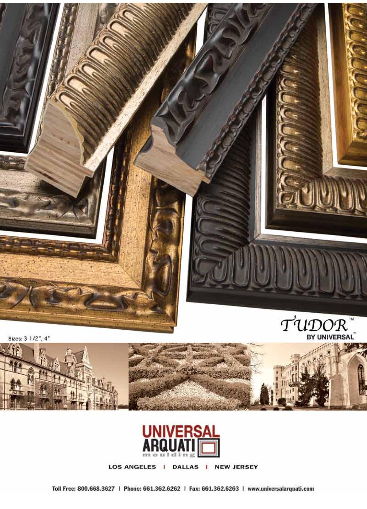 Tudor Picture Frame Moulding