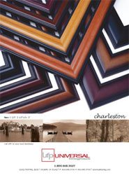 CHARLESTON Picture Frame Moulding