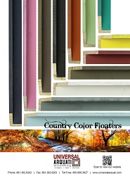 Country Color Floaters Moulding