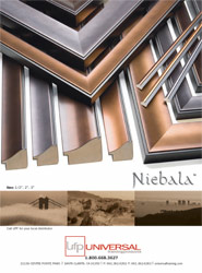 Niebula Picture Frame Moulding
